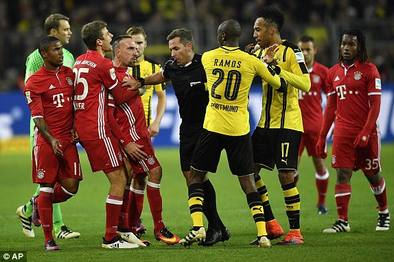 Topafric - Bayern Clashes Against Dortmund in Classic Rematch